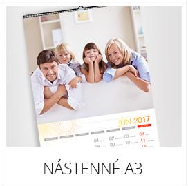 Nástenné kalendáre z vlastných fotiek - formát A3