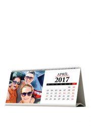 Stolový kalendár z vlastných fotiek - šablóna 04