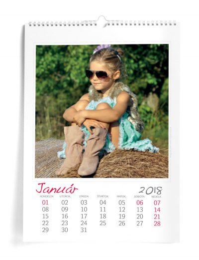 Kalendar A3 - šablóna 1
