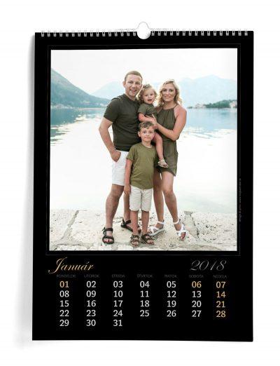 Kalendár z vlastných fotiek A3 - šablóna 2