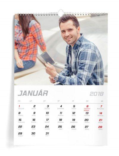 Kalendár z vlastných fotiek A3 - šablóna 3