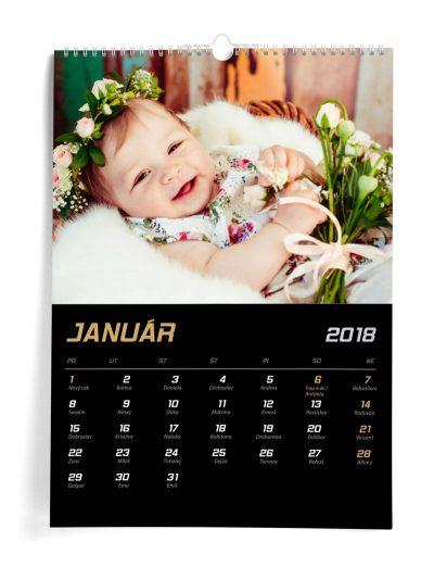 Kalendár z vlastných fotiek A3 - šablóna 4