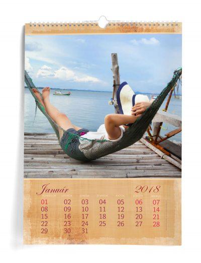 Kalendár z vlastných fotiek A3 - šablóna 7