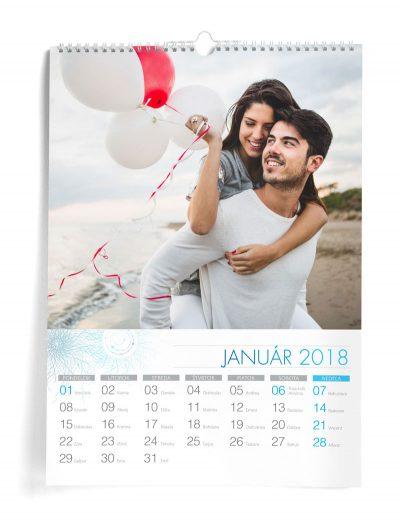 Kalendár z vlastných fotiek A3 - šablóna 8