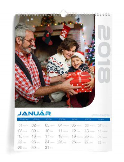 Kalendár z vlastných fotiek A3 - šablóna 11