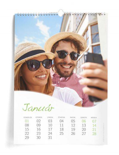 Kalendár z vlastných fotiek A3 - šablóna 15