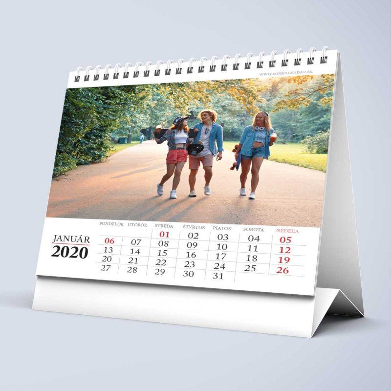Stolový kalendár z vlastných fotiek s 03