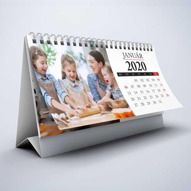Stolový kalendár z vlastných fotiek s 04