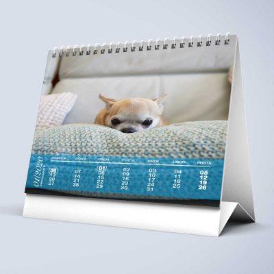 Stolový kalendár z vlastných fotiek s05