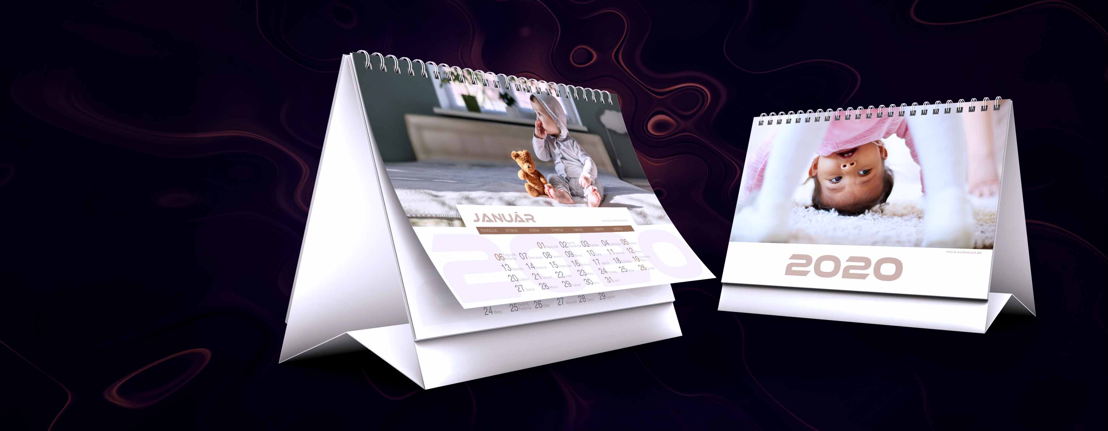 Kalendáre z vlastných fotiek - slider
