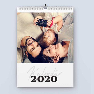 Nástenný kalendár šablóna 24 - obálka
